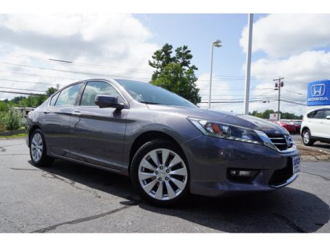 Certified Pre-Owned 2015 Honda Accord EX-L V6
