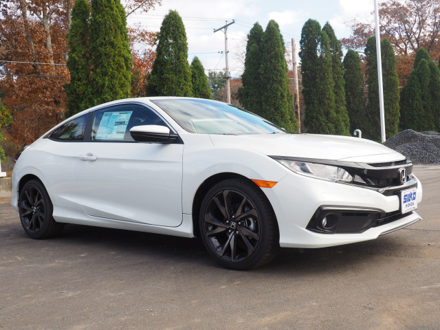 New 2019 Honda Civic Sport Sport 2dr Coupe Cvt Near Brockton 30155