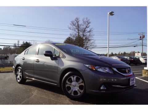 Pre-Owned 2013 Honda Civic Hybrid w/Leather