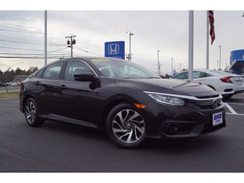 Certified Pre-Owned 2016 Honda Civic EX w/Honda Sensing