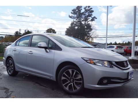 Certified Pre-Owned 2013 Honda Civic EX-L