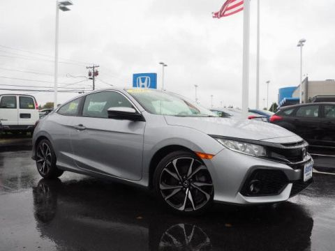 Certified Pre-Owned 2018 Honda Civic Si Coupe Manual